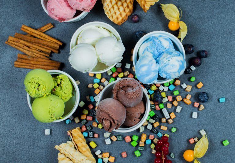 Eis bunt Sommer Vielfalt