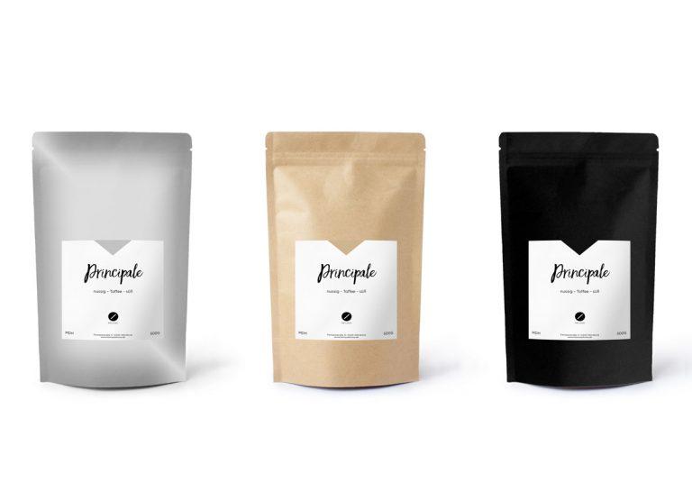 Kaffeepackaging jo's büro für Gestaltung