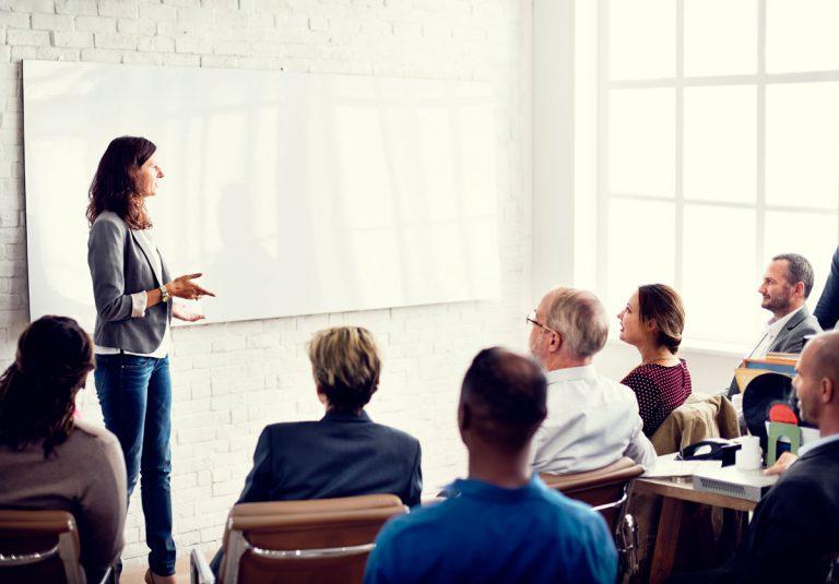 Schulungen Seminar Konferenz Besprechung