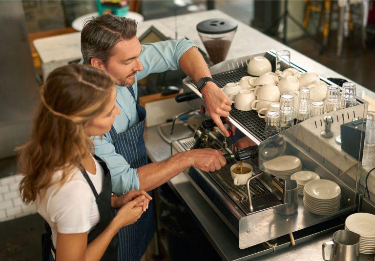 Café Maschine Kaffee